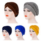 Stylish Womens Turban Cap Head Wrap Bandana HEAD   Cap Plain Color Chemo Hat