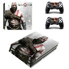 For PS4 Pro Consoles&Controller Covers Vinyl Skin Sticker God of War Decal15