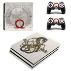 For PS4 Pro Consoles&Controller Covers Vinyl Skin Sticker God of War Decal18