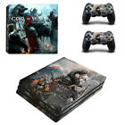 For PS4 Pro Consoles&Controller Covers Vinyl Skin Sticker God of War Decal06