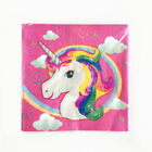 Disposable Unicorn Paper Cup Plate Fork Banner Birthday Party Home Décor Supply