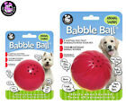 *NEW* DOG TOY BABBLE BALL INTERACTIVE ANIMAL SOUND DURABLE TOUGH BALL TOY 2 SIZE