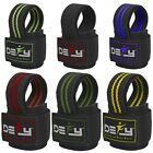 DEFY SPORTS  Weight Lifting Gym Power Straps Grip Gloves Training Wrist Support