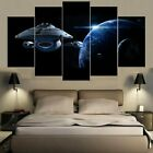 5 Panel Star Trek Voyager & Planets Modern Decor Canvas Wall Art HD Print on eBay