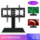 Desk Top Monitor Table TV Stand Bracket Mount Plasma LCD LED 22-70