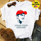 Stand Your Ground Covington Catholic High School T Shirt White Size S-3XL
