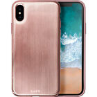 LAUT Huex Metallics for iPhone X - Rose Gold Electronic Case NEW