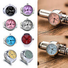 Creative Women Quartz Analog Finger Ring Watch Round Dial Elastic Casual Watches image