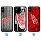 Detroit Red Wings Case For iPhone X Xs Max Xr 8 7 Plus Galaxy S9 S8 S7 $3.99 USD on eBay