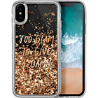 LAUT Pop Glitter Glam for iPhone X - Clear Electronic Case NEW