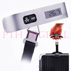 LED LCD Luggage Travel Weighing Strap Scale 50kg