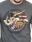 Harley-Davidson Looney Tunes Mens Wile E. Coyote Speed Short Sleeve Grey T-Shirt $14.99 USD on eBay