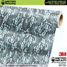 MINI OVERCAST Camouflage Vinyl Vehicle Car Wrap Camo Film Sheet Roll Adhesive