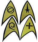 Star Trek Original Series Gold 8.25cm Patch Embroidered Sew or Iron on Badge on eBay