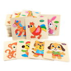 Wooden Animal Letter Puzzle Early Learning Toddler Boys Girl Educational Toys HA