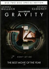 GRAVITY The MOVIE on a 2 Disc DVD of NASA with GEORGE CLOONEY and SANDRA BULLOCK