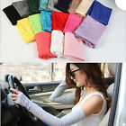 Hot Women Girl Warm Arm Cotton Long Fingerless Gloves Warmer Party Gift Fashion