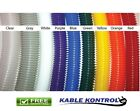 Kable Kontrol Colored Polyethylene Split Wire Loom Tubing  - Size & Color Option