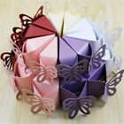 50PCS Butterfly  Candy Gift Boxes Wedding Party Baby Shower Party Supplies