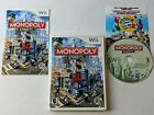 Monopoly Streets Wii Complete Game for Nintendo Wii **TESTED & WORKS GREAT**