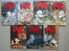 BONE LOT 7~Jeff Smith~TREASURE HUNTERS~GHOST CIRCLES~DRAGONSLAYER~BONEVILLE~CAVE