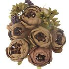 13 Heads Peony Bouquet Artificial Flower Autumn For Wedding Home Floral Decors