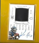 D3827 KEVIN WHITE 2015 NATIONAL TREASURESS BEARS ROOKIE AUTOGRAPH JERSEY #47/49