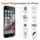 Premium Real Tempered Glass For Cell Phone 6/6s/7/8 Plus/X/XS Screen Protector