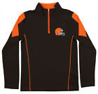 Outerstuff Youth NFL Cleveland Browns Lightweight 1/4 Zip Pullover $14.99 USD on eBay
