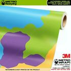 JUMBO CUMULUS CARNIVAL Camouflage Vinyl Vehicle Car Wrap Camo Film Sheet Roll