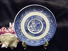 Scio Pottery Donna Shape BLUE WILLOW Saucer/s Only (loc-big)