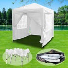 2x2m Pop Up Gazebo Waterproof Marquee Canopy Outdoor Garden Party Wedding Tent