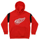 Outerstuff NHL Youth Detroit Red Wings Performance Fleece Hoodie, Red $12.99 USD on eBay