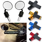 """Black Motorcycle Rearview Side Mirrors / 7/8"""" Bar End Grips For Honda CBR600RR $7.89 USD on eBay"""