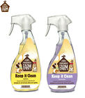 NEW* 2 X 500ML KEEP IT CLEAN TINY FRIEND SMALL ANIMAL BIRD REPTILE CAGE CLEANER