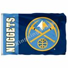Denver Nuggets Wordmark Flag 3Ft X 5Ft Polyester Banner Flying Size 90*150Cm on eBay