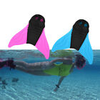 Kids/Adult Swimming Mermaid Diving Monofin Swimmable Tails Fins Flipper Mono Fin