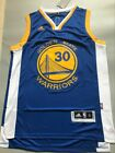 NWT Stephen Curry GOLDEN STATE WARRIORS REV30 SWINGMAN JERSEY BLUE SIZE S XXL