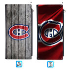Montreal Canadiens Leather Wallet Clutch Purse Long Thin Handbag $12.99 USD on eBay
