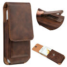 Flip Leather Pouch Case with 360° Rotating Belt Clip For Apple iPhone 6 6s 7 8