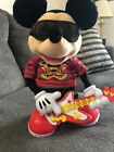 """15"""" Rock Star Mickey Mouse Animated Singing Dancing Toy 2010 Disney Mattel"""