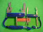 NTSA LOT of 2 SWISS ARMY VICTORINOX POCKET KNVES SAPPHIRE CLIMBER & RAMBLER