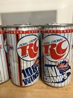 """NY Mets RC Cola Soda Can """"Mets beat Red Sox"""" '86"""