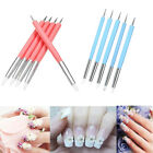 Handle Double-head Nail Art Silicone Pen Sculpting Pottery Tool  Clay Shaper image