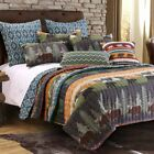 Black Bear Lodge Quilt Set by Greenland Home Fashions