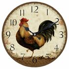 Rooster 13.5 in. Wall Clock