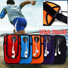 Sport Arm Bag Armband Running Jogging Riding Case For Cell Phone Holder USA image