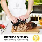 11Pcs Bear Claws Shredder BBQ Tongs Basting Brush Knife Fork for Barbecue Grill