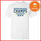 St Louis Blues Western Conference Champs 2019 T shirt Tee NHL S-5XL $11.99 USD on eBay