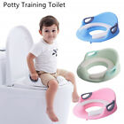 Potty Training Seat For Kids Boys Girls Toddlers Toilet Baby With Cushion Handle image